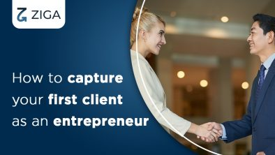 How to capture your first client as an entrepreneur
