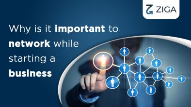 Why is it important to network while starting a business